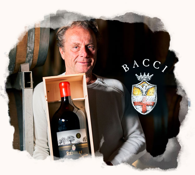 Marco Bacci one of the top Italian winemaker